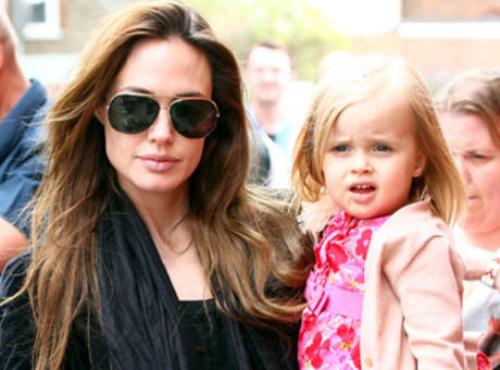 According to reports, Vivienne Jolie-Pitt will play the child version of Princess Aurora (AKA Briar Rose, AKA Sleeping Beauty) in Maleficent. You know, when I first read this, I was filled with jealousy. If anyone should be playing a Disney princess, it's me. I'm basically an expert. But upon further thought, I'm just amused. Watching a Jolie-Pitt try to play someone (A) beautiful and (B) capable of lying still for long periods of time is going to be hilarious. I know this movie is supposed to be Sleeping Beauty retold from the villain's perspective, but it's an interesting risk to make Aurora a straight-up gnome.