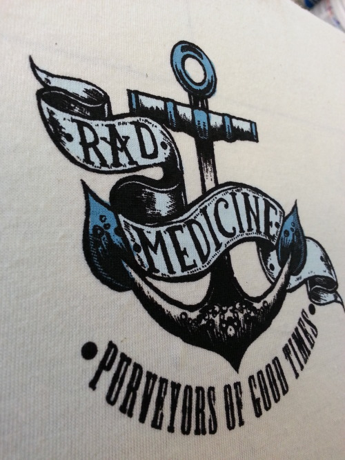 Sneaky peak at the upcoming Rad Medicine tees. These are the back of the neck tags, 3 colour on 100% organic cotton ecru (natural undyed) tees. Awesome artwork by the great Phil Harris.  http://philipharrisillustration.co.uk/ http://radmedicine.bandcamp.com/