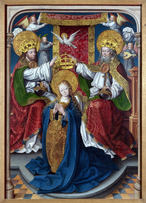 allaboutmary:  Master of Cappenberg (Jan Baegert) – The Coronation of the Virgin