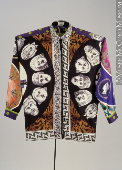 Shirt Gianni Versace, 1991 The McCord Museum