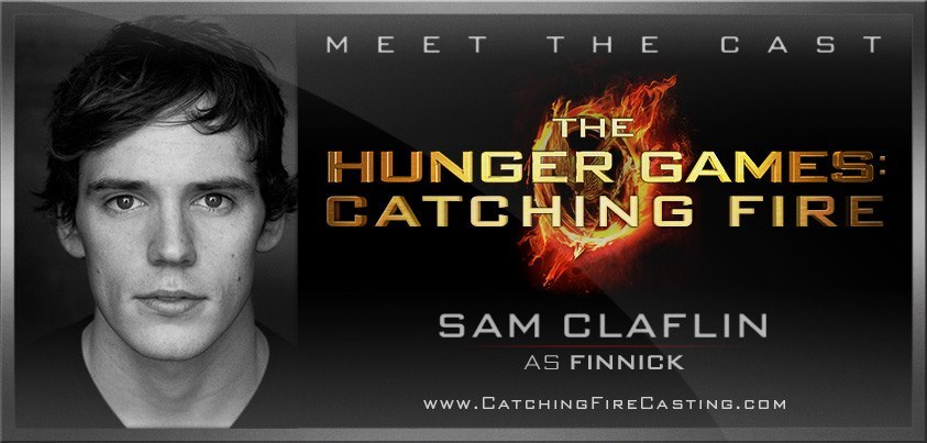 OFFICIAL: Sam Claflin cast as Finnick Odair in CATCHING FIRE! (Yes, for real! Confirmed!!!)