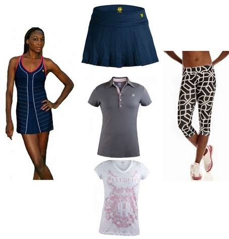 Venus Williams fashion/tennis line is out now!