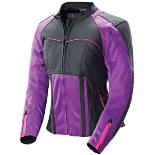 Motobuys.com Now Shipping The Joe Rocket Womens Radar Jacket  Redefine your perception of the typical stiff, hot, and expensive leather jacket with the ultra-agile Radar. The most comfortable and agile ladies leather jacket the motorcycle industry has ever seen.   FOR IMMEDIATE RELEASE    Motobuys Joe Rocket Jacket PRLog (Press Release) - Aug 21, 2012 -  Motobuys is proud to offer this Joe Rocket jacket that features the Full Flex System, a precision-tailored fusion of pliable mesh segments that drastically augment the mobility and coolness of the resistant leather and textile shell.  When combined with the removable comfort liner, this jacket is great for summer heat or chilly winter days. Protection is built right into the chassis with 1.2 millimeter premium leather reinforcements at the upper chest, shoulders, ribs, back, elbows and forearms, and is backed by CE-approved armor at the shoulders and elbows with an included articulated spine pad.  Other features include an integrated aerodynamic speed hump, reflective striping, numerous pockets and an 8-inch zipper for pant attachment. This jacket is available in sizes XS through 2Diva (2Diva in black only) in black/black, white/Gun Metal and purple/black color combos. The MSRP is $299.99 Features:   FullFlex™ system - combined 1.2mm cowhide, textile, FreeAir™ mesh outer    Removable Slim line C.E. approved armor at the shoulders & elbows (optimized for comfort, fit & safety)     Removable spine pad with pocket for optional C.E. spine armor    Removable, windproof & breathable hybrid comfort liner     6-point SureFit™ custom adjustment system (adjustable sleeves, wrists, & waist)     Articulated expansion gusset at back for increased mobility     2 hand warmer pockets and 1 inner pocket     Snap loops for attaching jacket to belt     Reflective stripe Motobuys can be reached at 877-667-6289 or at www.motobuys.com