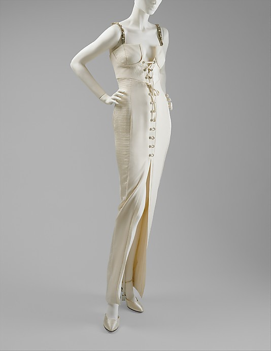 omgthatdress:  Dress Gianni Versace, 1991 The Metropolitan Museum of Art