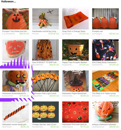 Halloween is here!  Featured item on Etsy Treasury List.  Love this holiday!