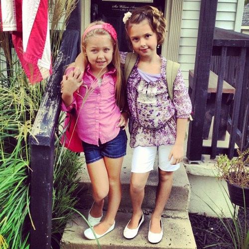 First day of school! (Taken with Instagram)
