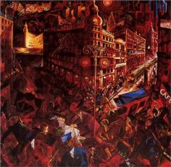 german-expressionists:   George Grosz, The City, 1916-1917