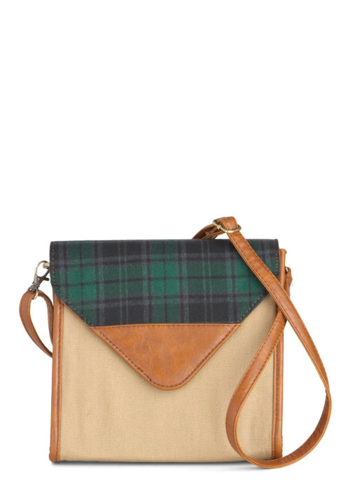Shop the Plaid a Little Love Bag.