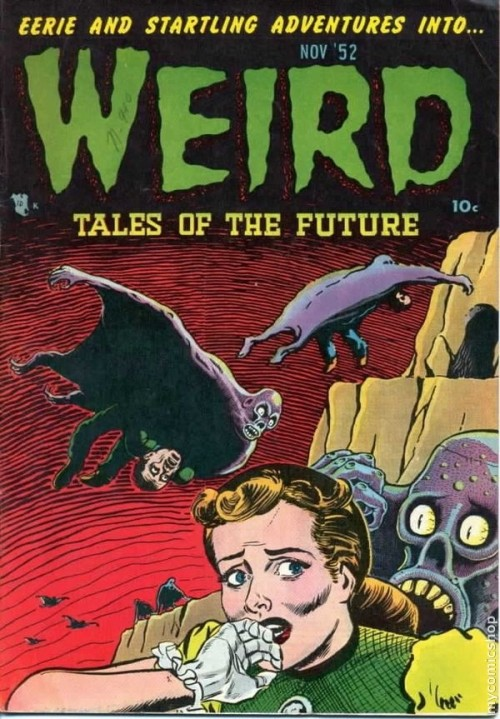 Weird Tales of the Future #4 - Published November 1952