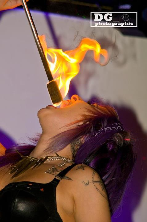 Katherine Fire Eating