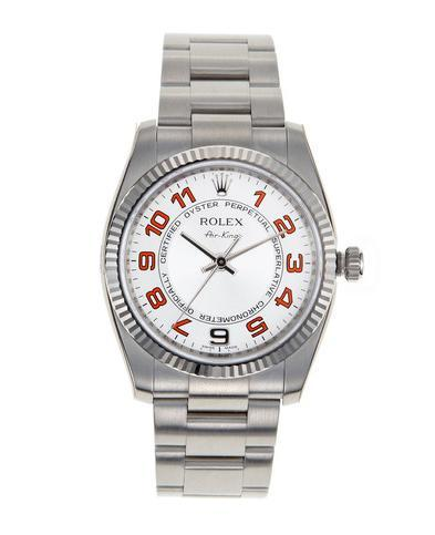 Vintage Rolex Steel Oyster Perpetual Air-King now on sale @ Gilt