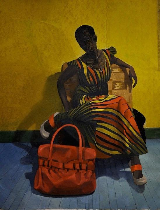 Mimetic Gestures (2010)Njideka Akunyili