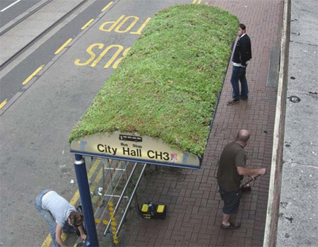'15 Unusual and Creative Bus Stops' Check out the full set here. (Source: Banoosh Social Network)