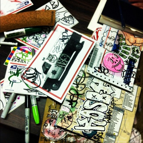 secretstickerclub:  Secret Club life. #kosby #yep #royce #jec #crasty (Taken with Instagram)