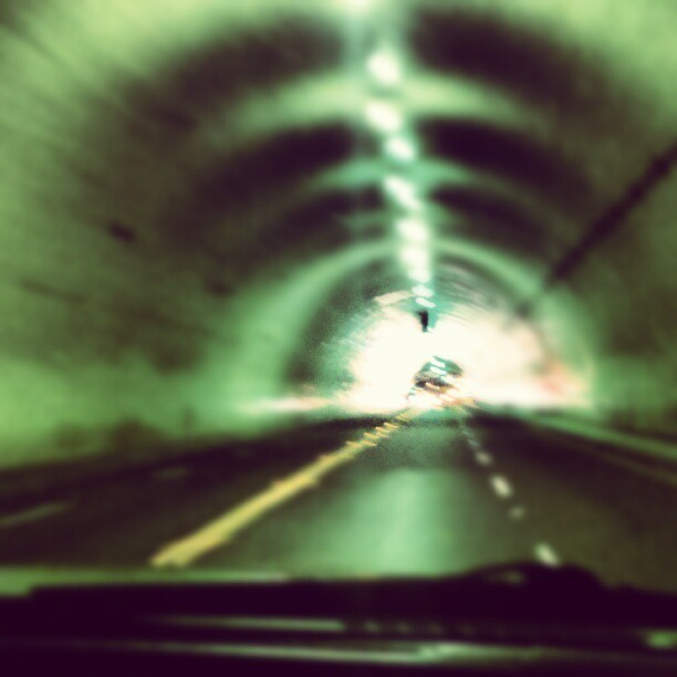 Downtown LA tunnel (Taken with Instagram)