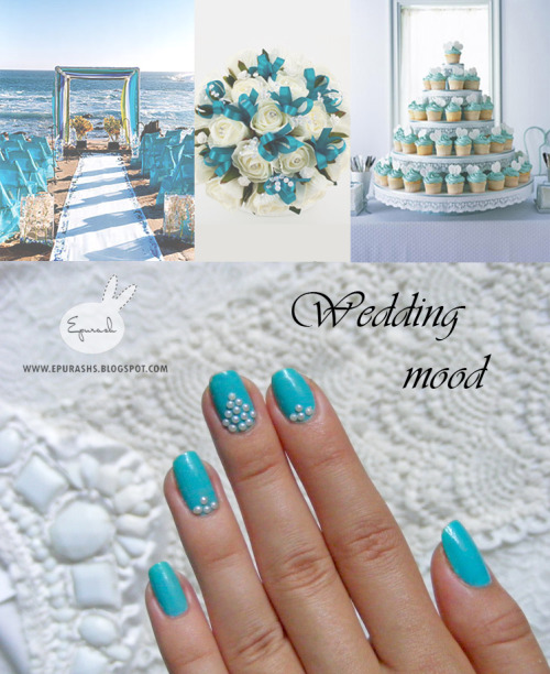 womensdelight:  1 per day project: #313 turquoise wedding