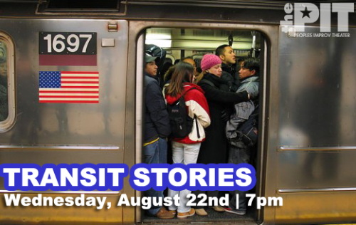 TONIGHT! Millions of people take public transportation to different places every day. Unfortunately, the most popular destination is Crazytown. Transit Stories is the sketch show you've experienced during that hellish commute home, while taking that plane across country or that time you just wanted to ride your bike to get some exercise, but were suddenly sucked into the middle of a real life BMX Bandits scenario sans Nicole Kidman. Written and produced by Michelle Francesca Thomas