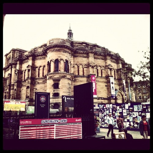 Best spot at the #edinburgh #fringe http://bit.ly/NIb2mb