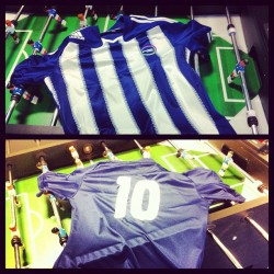 New season, new strip. #football #ben10 (Taken with Instagram)