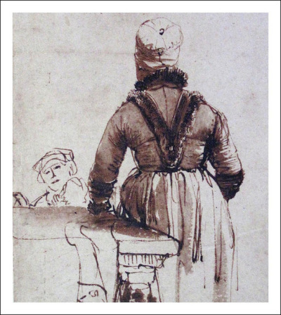 Rembrandt by YIP2 on Flickr.Rembrandt Drawing by Rembrandt van Rijn, 1639. Seen in Teylers Museum, Haarlem, Holland.