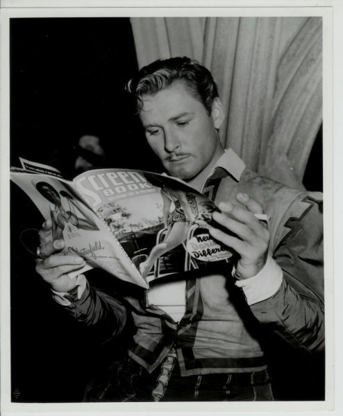 Errol Flynn reads.