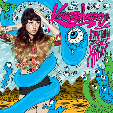 A quick analysis of Kreayshawn's new album through the track list alone.