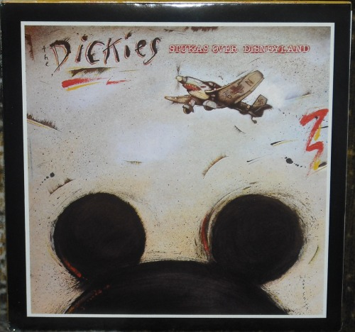 The Dickies - Stukas Over Disneyland.  A friend told me there are too many punk records on my Tumblr.  So here's another one.