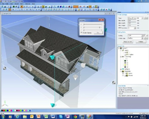 "3DMTP Cloud-Based Service Converts 3D Architectural Files into 3D Printable Models  3DMTP is a cloud-based software service, focused on making 3D architectural models 3D Printable. 3DMTP automatically transforms 3D designs, from BIM, 3D CAD, SketchUp software and other 3D visualization software into scalable and 3D printable model files.   3DMTP helps overcome the complex challenges sometimes faced in making 3D scaled models printable for architects, developers and designers. The innovation is based on algorithms which study-the geometric structure of the model, identify and AUTOMATICALLY fix problems that would have prevented it from being successfully printed. Sweet.  Once you are ready to turn your design into a 3D printable model, upload your design file and set your parameters: scale, profile, and desired 3D printer. 3DMTP automatically processes the file without any additional operator interface. 3DMTP also fixes holes between polygons and facets, repairs reverse surfaces, changes the thickness of walls to minimum print tolerance for the selected printer, fixes non-volumetric geometry (making objects ""watertight""), and fixes many other problems of degenerated geometry that otherwise would prevent the model from printing successfully  Check out some of their 3D Printable architectural models already in their Shapeways shop."