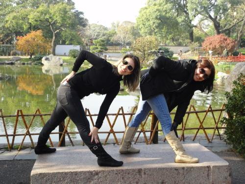 "XUXAS ""pexcando"" de botuxa. Jackeline Gadelha e Keyla Soares - Buenos Aires - Argentina"