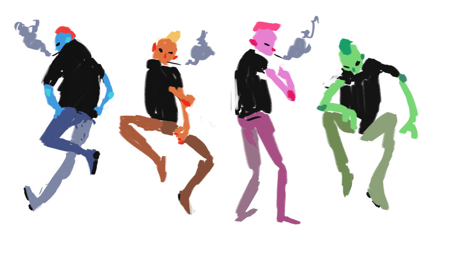some unused concepts for a music video we won't end up doing :( too bad, it would have been wicked cool buttsbuttsbutts