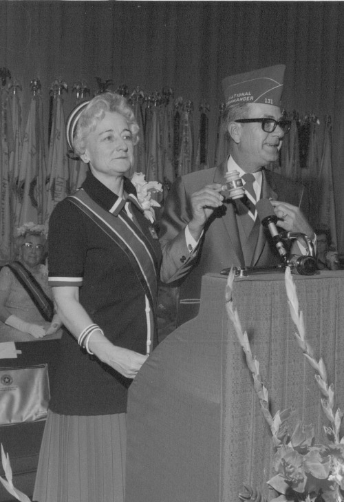 Past National President Mrs. H. Milton Davidson at the 1970 National Convention