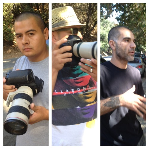 "wilwheaton:  johnrossbowie:  Here are some guys who were taking picture of a playground where my daughter was playing with the daughter of a famous person. Doesn't matter who. Doesn't matter where.  The gentleman on your left took umbrage at me taking pictures and said ""Get out of my face!""  Funny, right?  It doesn't matter if a person is famous or not, they deserve the same right to be left the fuck alone when they're in public as everyone else. Fuck these guys, and everyone who buys their pictures. They're all scum.   I would add that anybody who buys tabloids or clicks to view the pap pictures online are part of the problem."