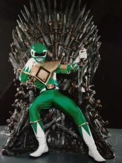 thegeekmaster:  Prepare yourself, Morphin' Time is coming.
