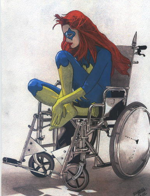 timetravelandrocketpoweredapes:  Batgirl - Oracle by Heather Smith Via bluedogeyes