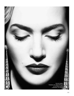 Kate Winslet for Spanish Vogue  ||  Lisa Eldridge Make Up
