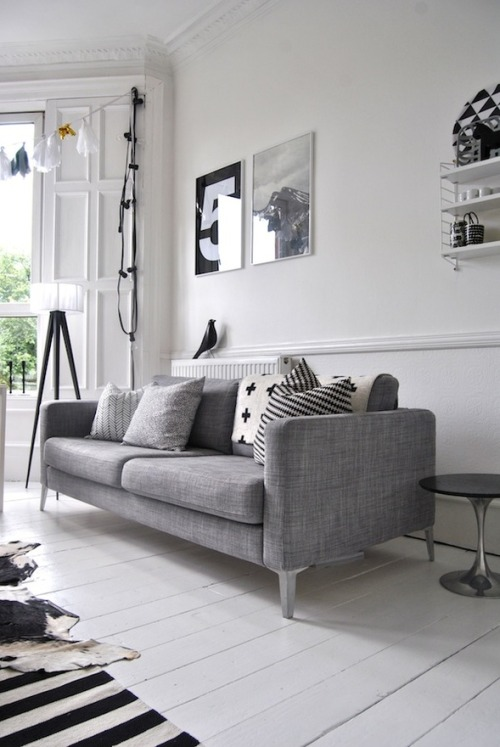 perfect scandinavian livng (via Interior inspirations)