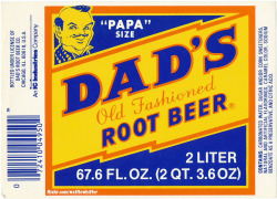 Dad's Root Beer Label - 1980s by Waffle Whiffer on Flickr.