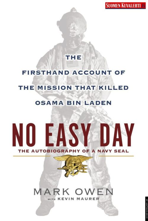 A detailed first-person account of the raid that killed Osama bin Laden, written under a pseudonym by a member of the Navy SEALs who participated in the mission and was present at bin Laden's death, will…be released on Sept. 11…The author's name will be listed as Mark Owen…For security reasons, he used a pseudonym and changed the names of other SEAL members.  more.