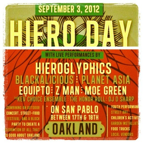 djnocturnal:  HIERO DAY!! Sept 3rd #hiero #Hieroglyphics #Oakland (Taken with Instagram)