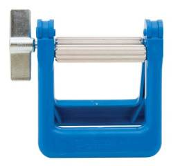Paint Tube Wringers. Use this handy little crank device to squeeze every last drop of paint from your metal paint tubes. Starts to make sense when you buy the good stuff at $20+ per tube.  Available by special order at The Drawing Board.