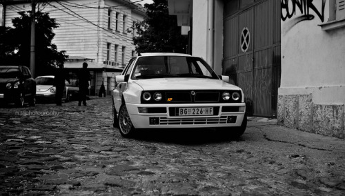 Perfezione on Flickr.Via Flickr: Lancia Delta Integrale HF Evolution |  Photoshoot 26.06.2011 Belgrade Serbia. © All Rights Reserved by Stojanovic Nikola. Nikon D3000  Sigma 30MM F1.4 DC HSM Fave and coment if you like it! :)Do not use this photo without my written permission.view on black