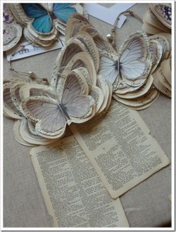 marbleskiess:  Butterflies from old books