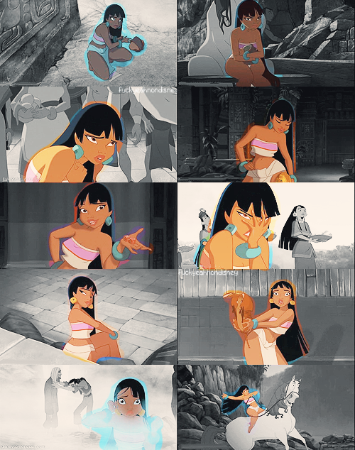 Five Favorite Non-Disney Heroines » #3 - Chel (The Road to El Dorado)