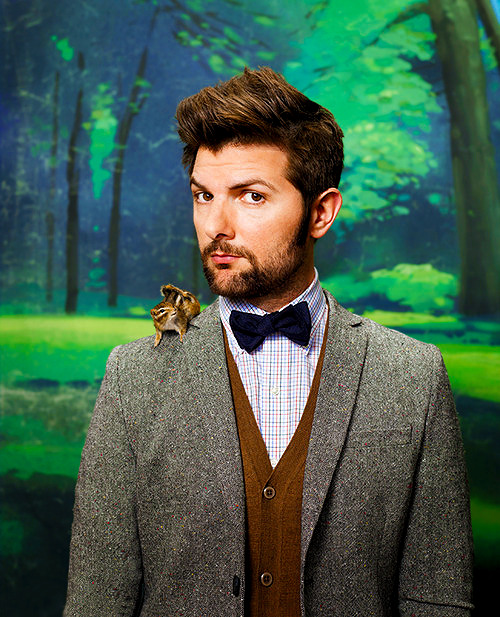 towritelesbiansonherarms:  I like adam scott