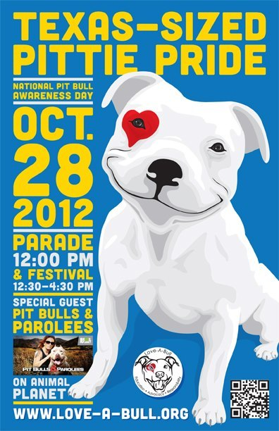 therealpitbull:  Sunday, October 28, 2012 atRepublic Square Park in Downtown AustinParade: Starts at 12:00pm (meet at 11:30am)Festival: From 12:30pm-4:30pmCost: All events are free and open to the publicMore Info…  TEXAS FOLLOWERS. GET A PITTIE!!!