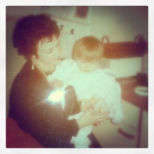 Me and my grandma wen I was little. #Cute. #Love. (Taken with Instagram)