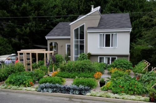 Canadian Town Reverses Ruling On Front-Yard Garden As the edible gardening movement continues, people in towns across the country and Canada turn to their front yards for more space to grow vegetables and fruit. City regulations and officials often thwart their efforts, but residents have been digging their feet in and fighting. Portland, Oregon changed its rules for building raised beds in parking strips after the media brought attention to a man who was ordered to remove his or pay a $180 fine.  A couple in Drummondville, Quebec, won a similar fight. The municipal council reversed its decision to condemn their front garden after 29,000 signatures were collected…