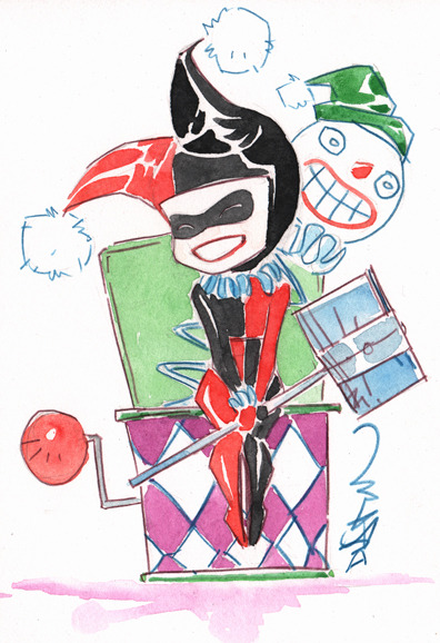 Such a cute Harley by Dustin Nguyen!