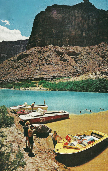 A lagoon on the Colorado River National Geographic | April 1962