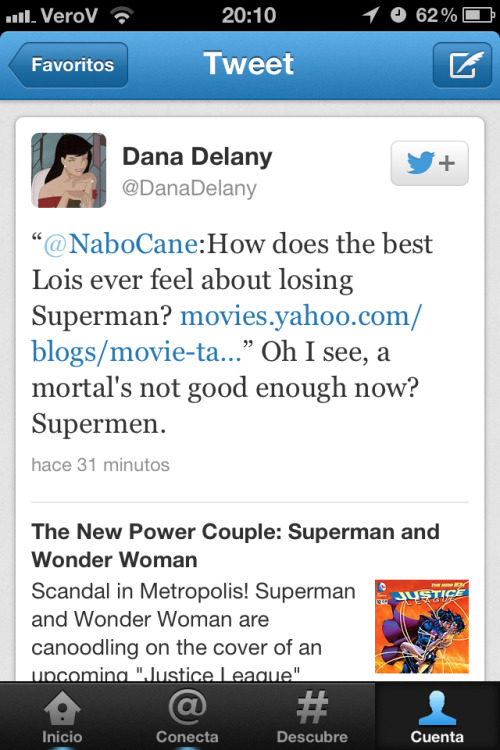 verogeller:  Why Dana Delany wins at life   And Ms Delany wins the interwebs.